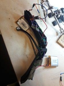 Circuit + 3D Printed Case + Fabric