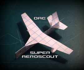 How to Make the Super AeroScout Paper Airplane