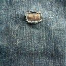 Patching Jeans; A simple Instructable.