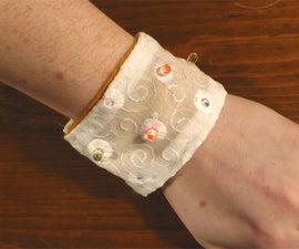 Soft-circuit LED Bracelet