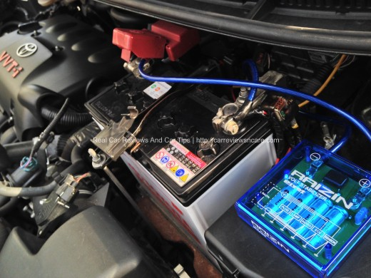 Picture of DIY Installation PIVOT Voltage Stabilizer and Grounding Cables in Car