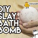 DIY Hex Bomb's Slay Bath Bomb
