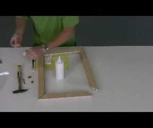 How to Create Dove Tail Inserts in Wood Frames - Part 2