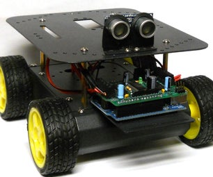 Wall-E's Anti-Social Cousin: Object Avoiding Arduino Controlled Robot!