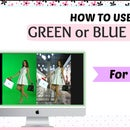 A guide to Use iMovie Software +  How to Use Green/Blue Screen Tutorial to make your Videos look better