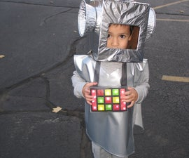 Robot Costume for Kids