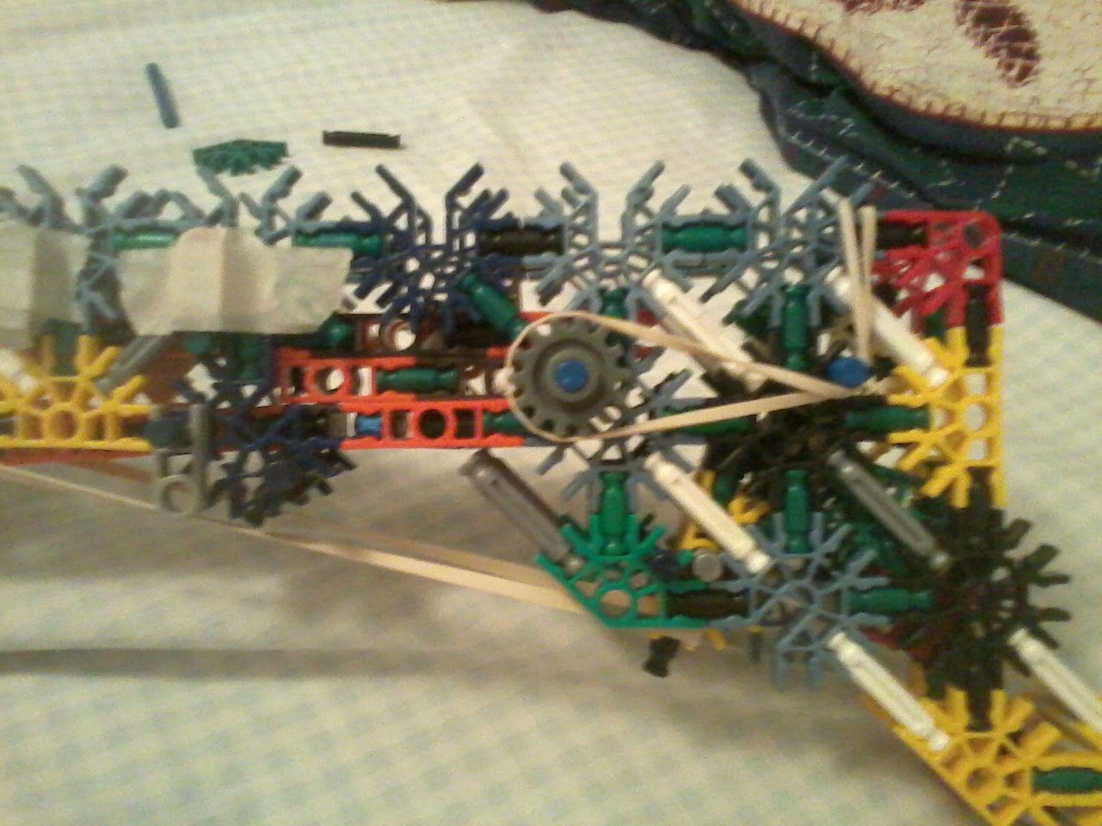 Picture of K'nex Blow-back Pistol
