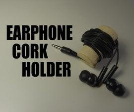 Earphone Cork Holder
