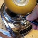 Make a Wire Brush/Buffer From an Unneeded Food Processor
