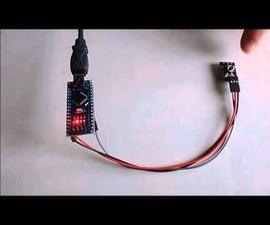 Arduino Nano: Debouncing, and Toggle button with Visuino
