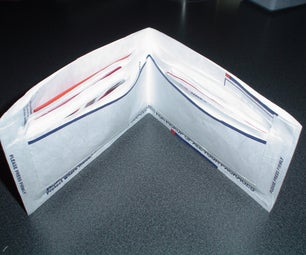 Wallet Made From Tyvek Mailing Envelope