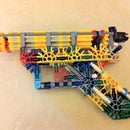 """The Blueprint""- Standard knex pistol for inexperienced knexers."