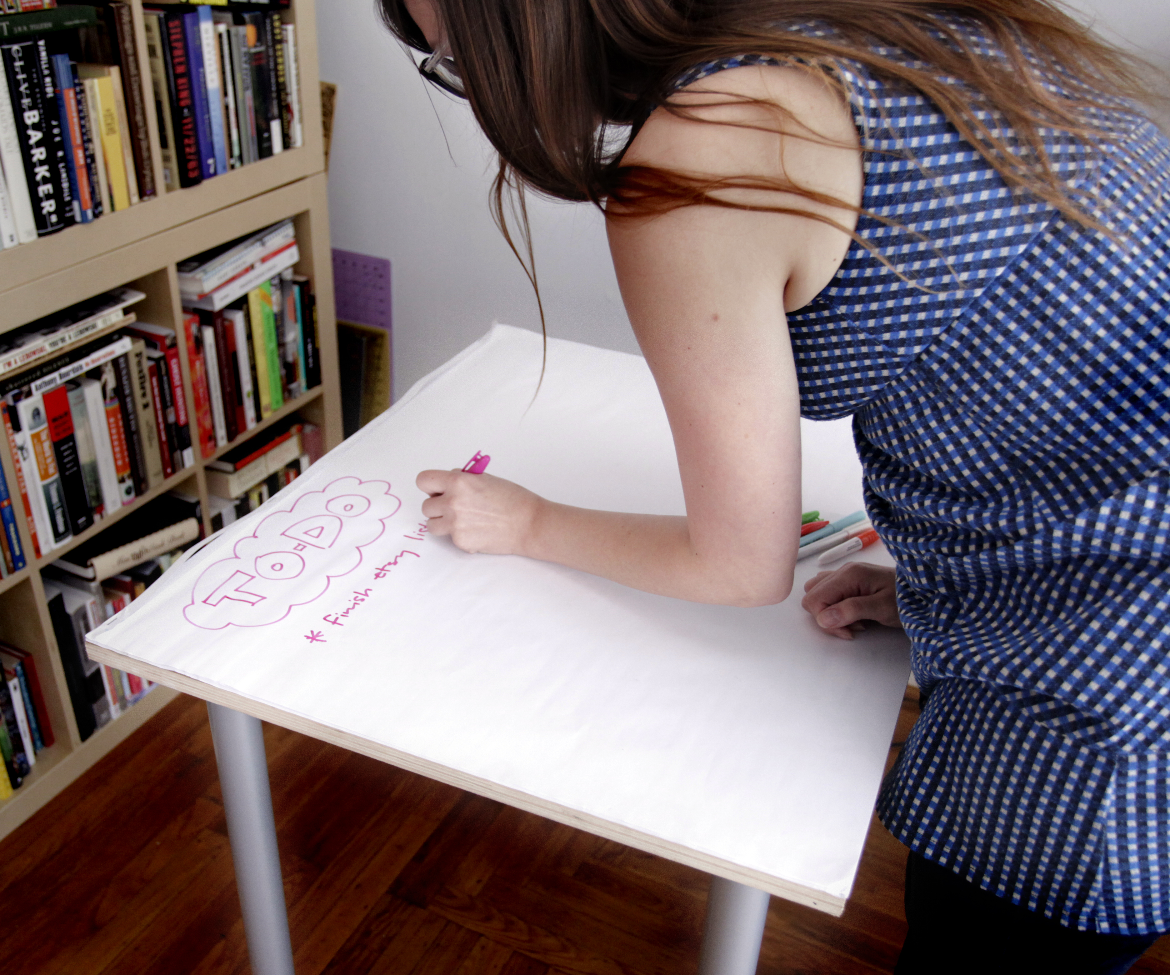 Picture of Giant Sticky Note Table