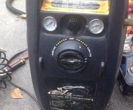 Portable Air Compressor Wire Fix