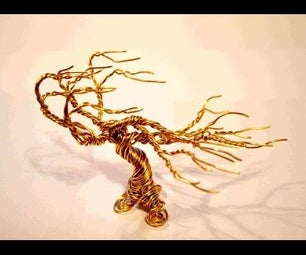 DIY Wire Bonsai Tree Tutorial