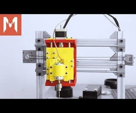 DIY PCB Milling Machine - Part 3 - X and Z Axis