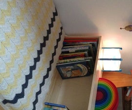 Floorbed With a Bookcase (and a Secret Compartment)