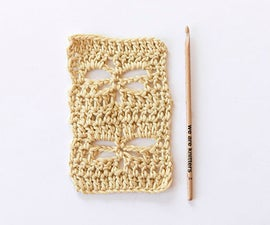 How to Make Dragonfly Stitch in Crochet