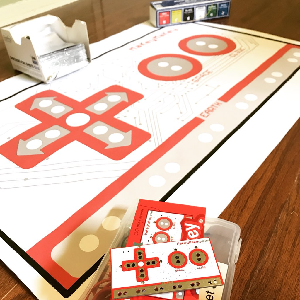 Picture of Print and Mount a Giant Makey Makey