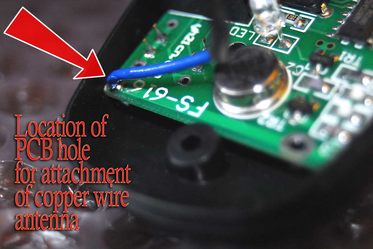 Picture of Cut an Antenna Wire and Attach It