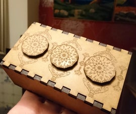 Three Dial Geared Puzzle Box [gearbox]