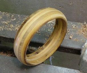 Turning a Plywood Bracelet - PIP