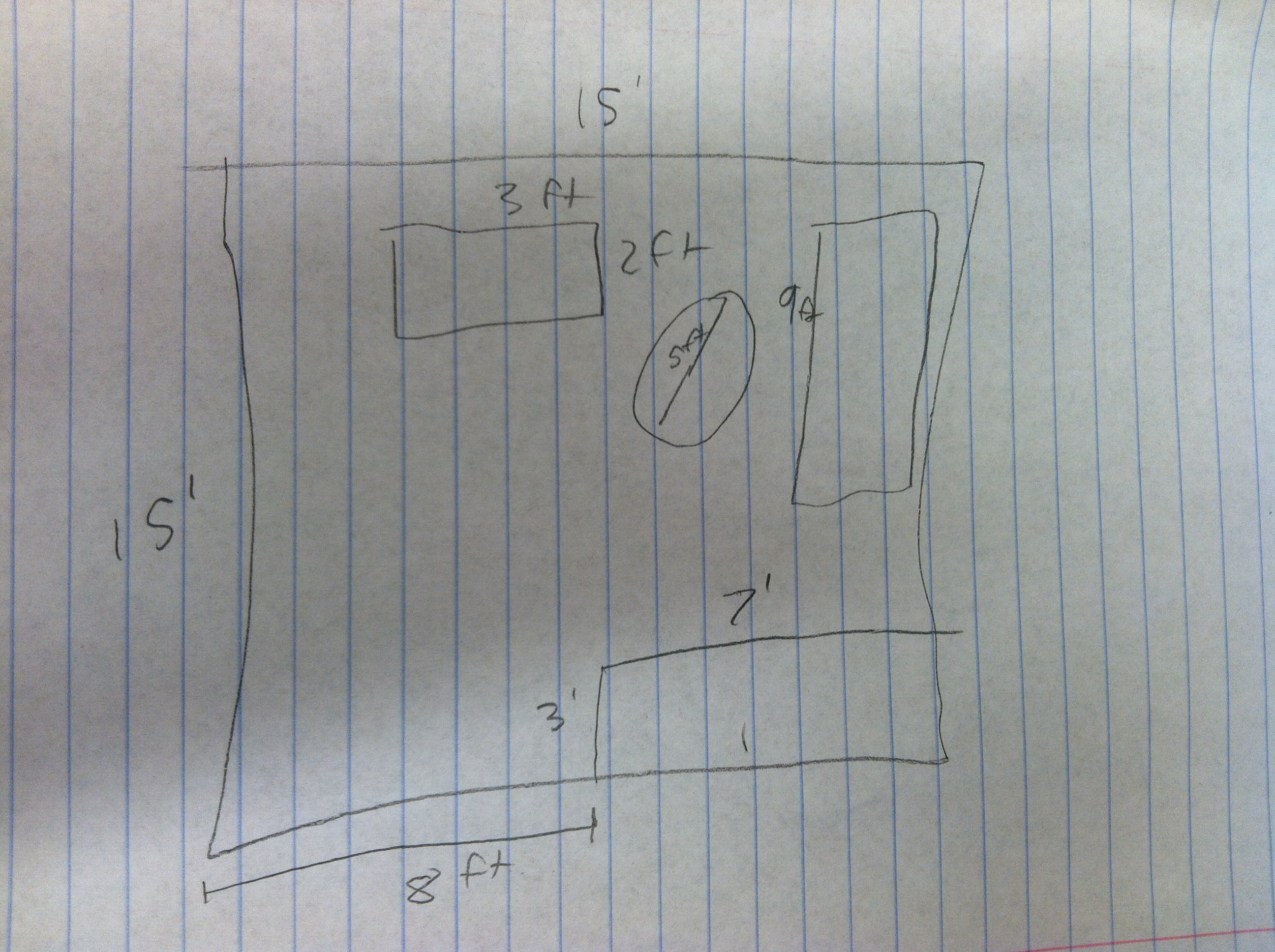 Picture of Measure and Draw in Furniture