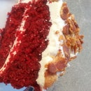 Red Velvet Bacon Cake