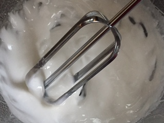 Picture of Processing the Frosting.