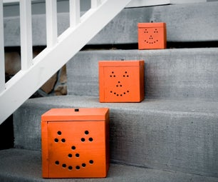 Stackable Wood Pumpkins