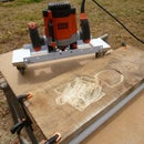 Adjustable DIY Router Planer Mobile Jig