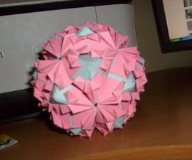 How to Make an Origami Petal Globe