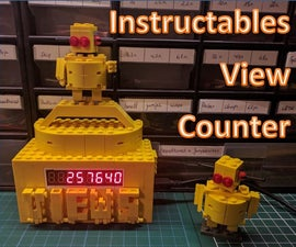 Instructables View Counter + ESP8266 Guide