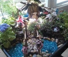 Magical Fairy Garden on a Fairy Budget