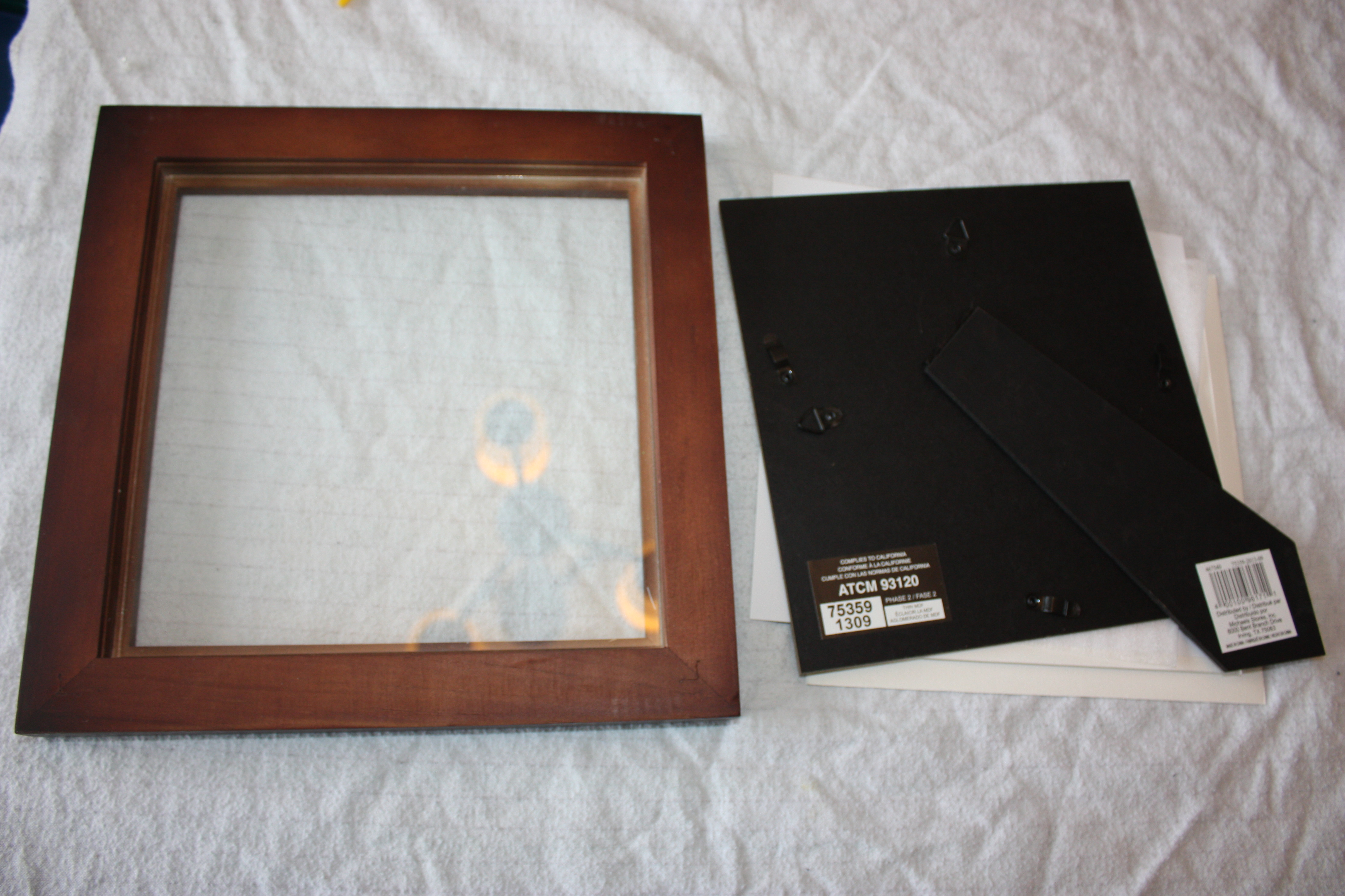 Picture of Getting Started: Prepping Your Glass & Frame