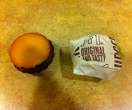 Super Easy Mini Hamburger Cookies