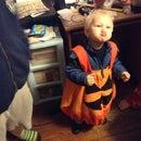Jack-O-Lantern Costume!