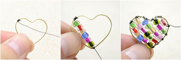 Make the Wire Wrapped Beads