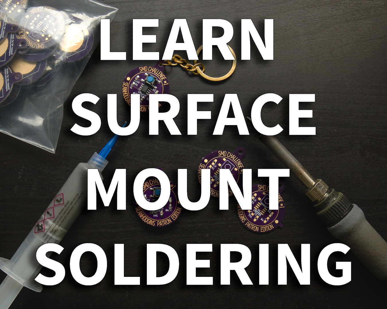 Picture of Learn to Surface Mount Solder Using an SMD Challenge PCB
