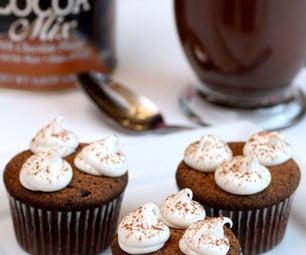 Hot Chocolate Cupcakes