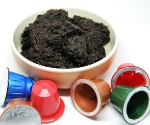 Nespresso Pods Coffee Scrub