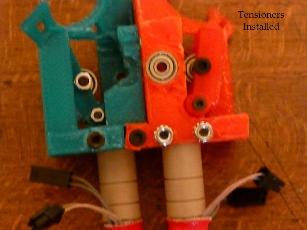 Picture of Install Tensioners