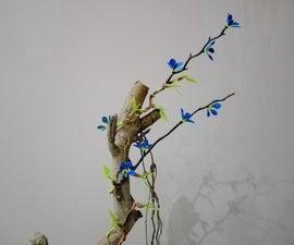 DIY Wild Vine on Dead Tree.