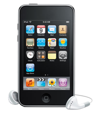 Picture of Ipod Touch Screen Protector Prototype