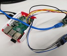 IoT Base Platform With RaspberryPi, WIZ850io : Echoback Application