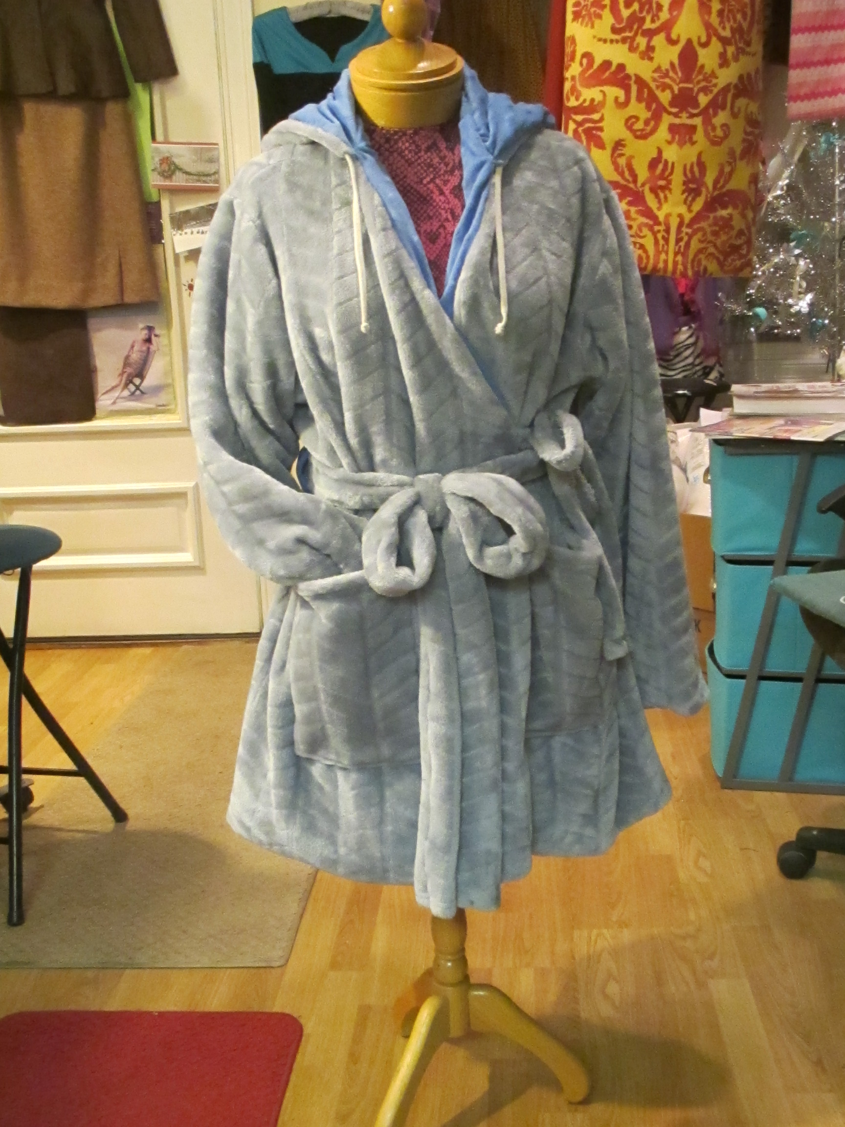 Picture of Custom Homemade Hoodie Robe ~ Gift for Daughter