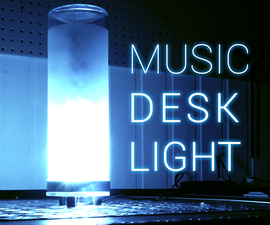 Music Reactive Desk Lamp