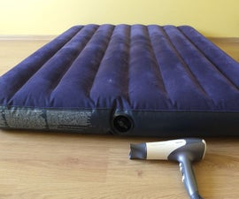 how to inflate air mattress without pump