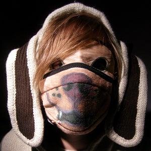 Drawn Eye-Mask