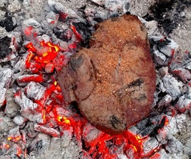 Coal-Roasted Steak